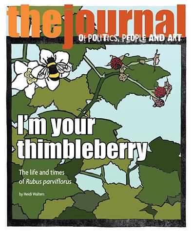 Thimbleberry & Bumblebee