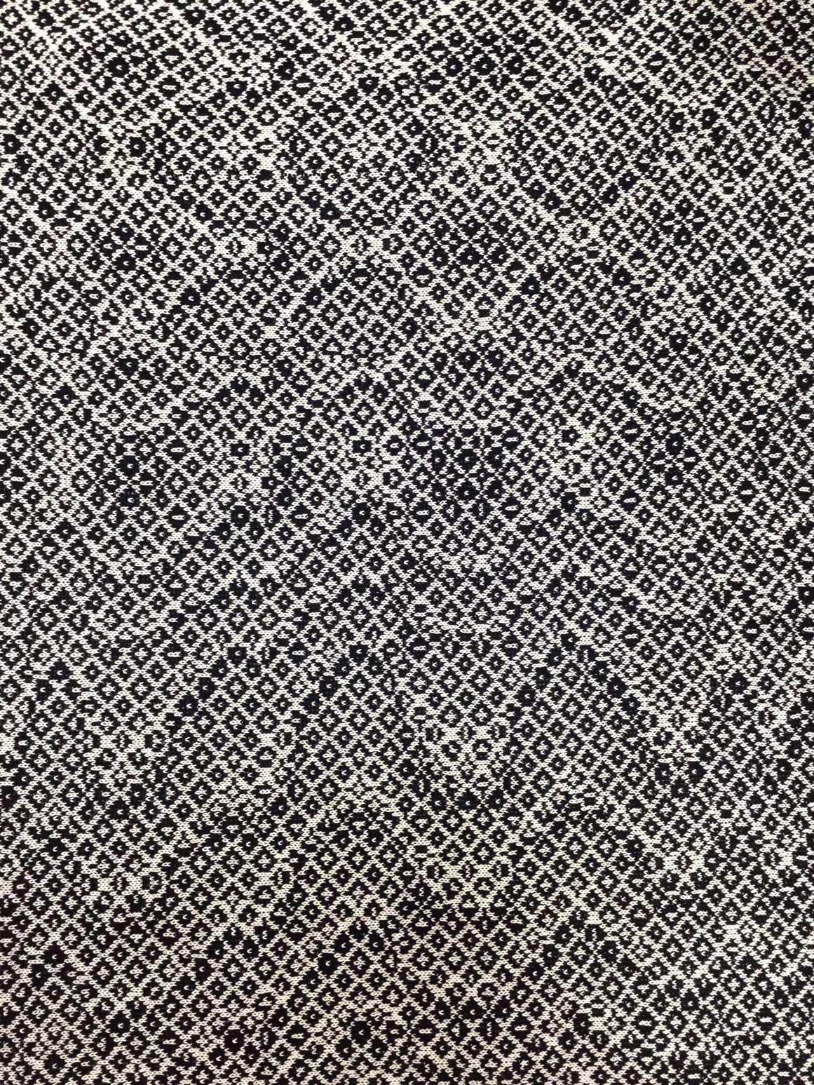 Shime Seiki trompe l'oeil knitting