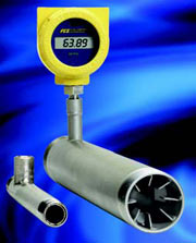 ST75V Flow meter for fuel gases, air & other gases withVortab conditioner