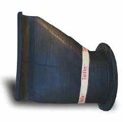 Tideflex S35-1 flat-bottom flanged duckbill valve