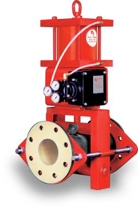 series 5300 open frame valve