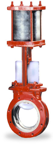 series g pneumatic knife gate valve