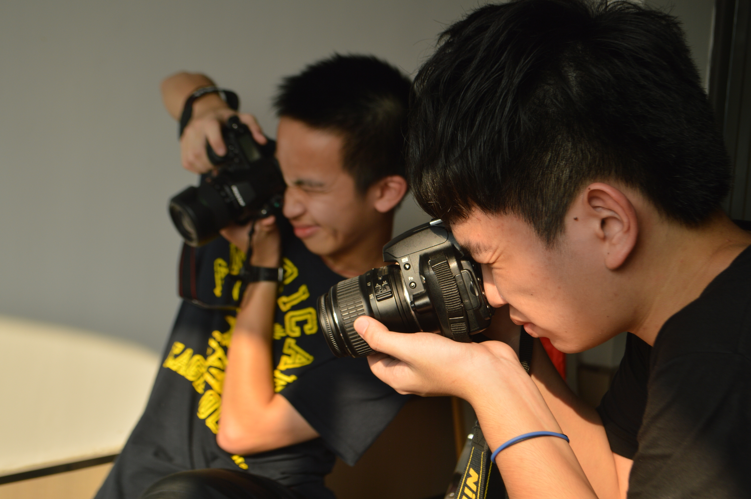 Students in the CAS Photography Club Alcanta International IB College, Guangzhou