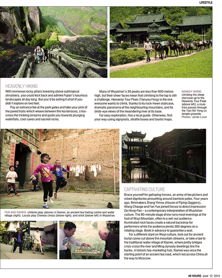 Posted with permission from Lucy Grewcock and 48 Hours Magazine South China Morning Post