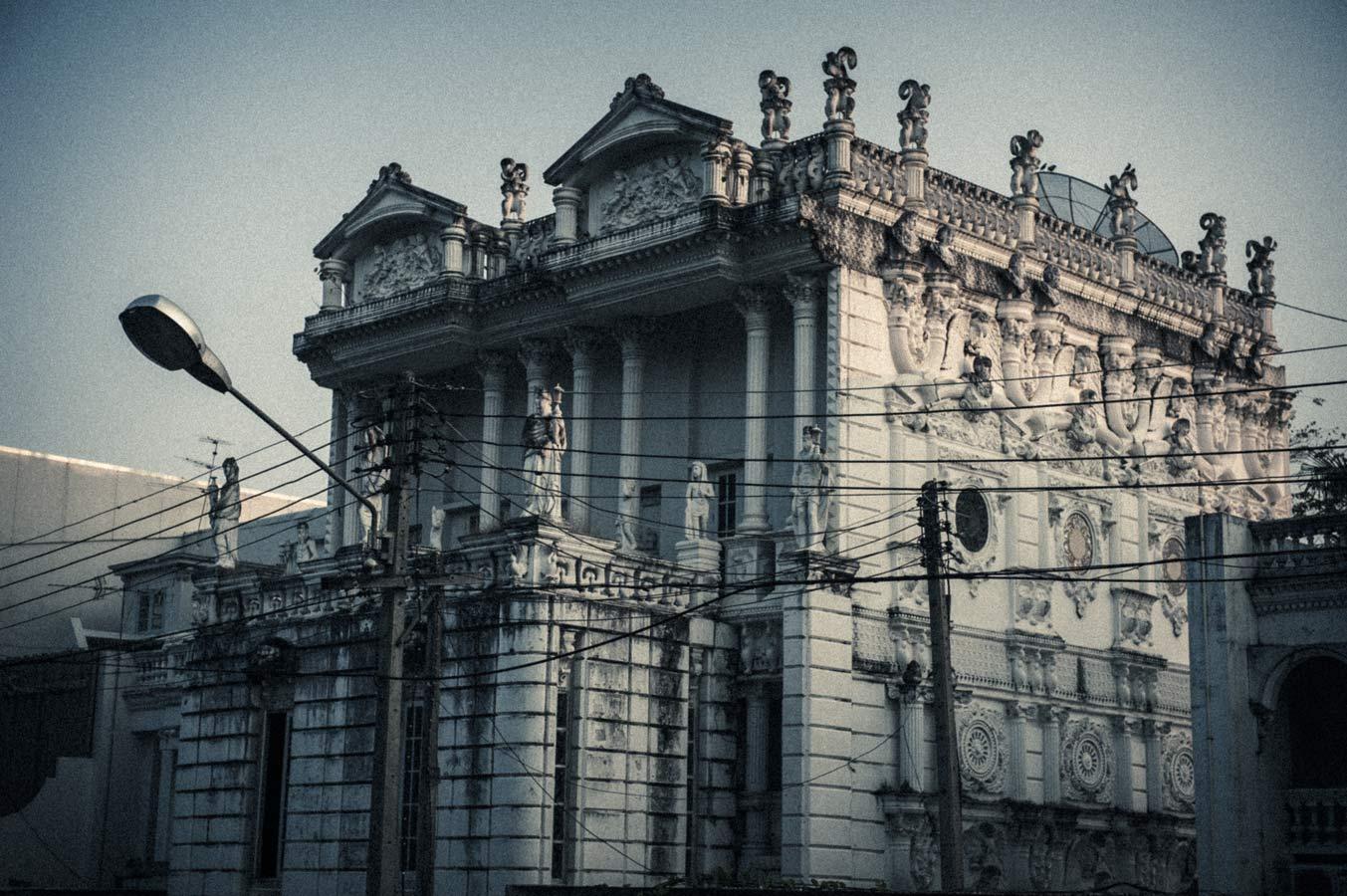 Janghuarinnakorn House (or The White Lion Mansion), Chiang Mai.