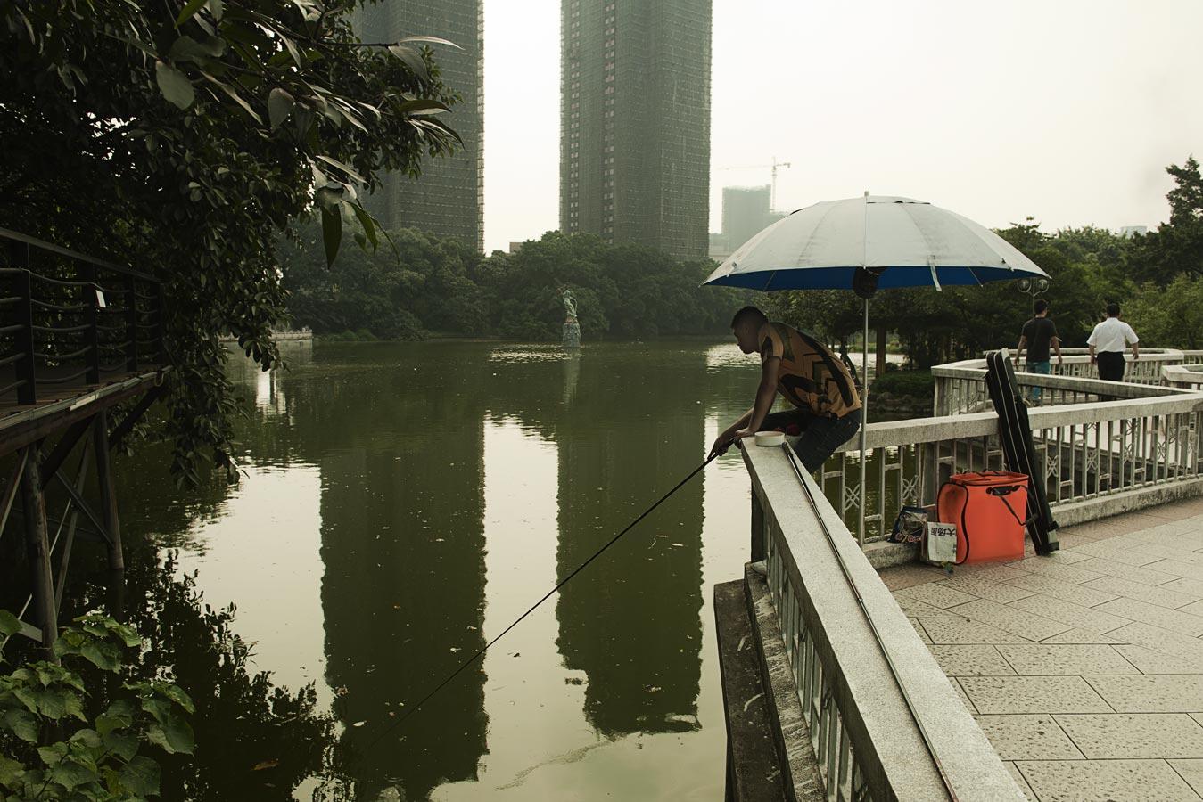 Jamie Lowe Photography Park Life Fishing Foshan