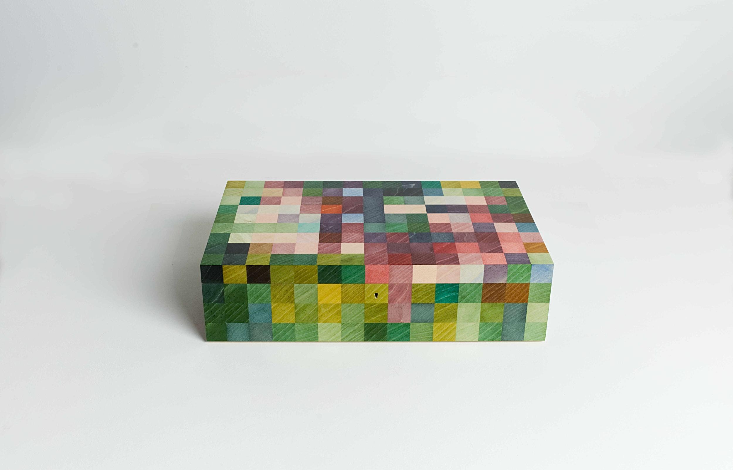 Hibiscus Jewellery Box