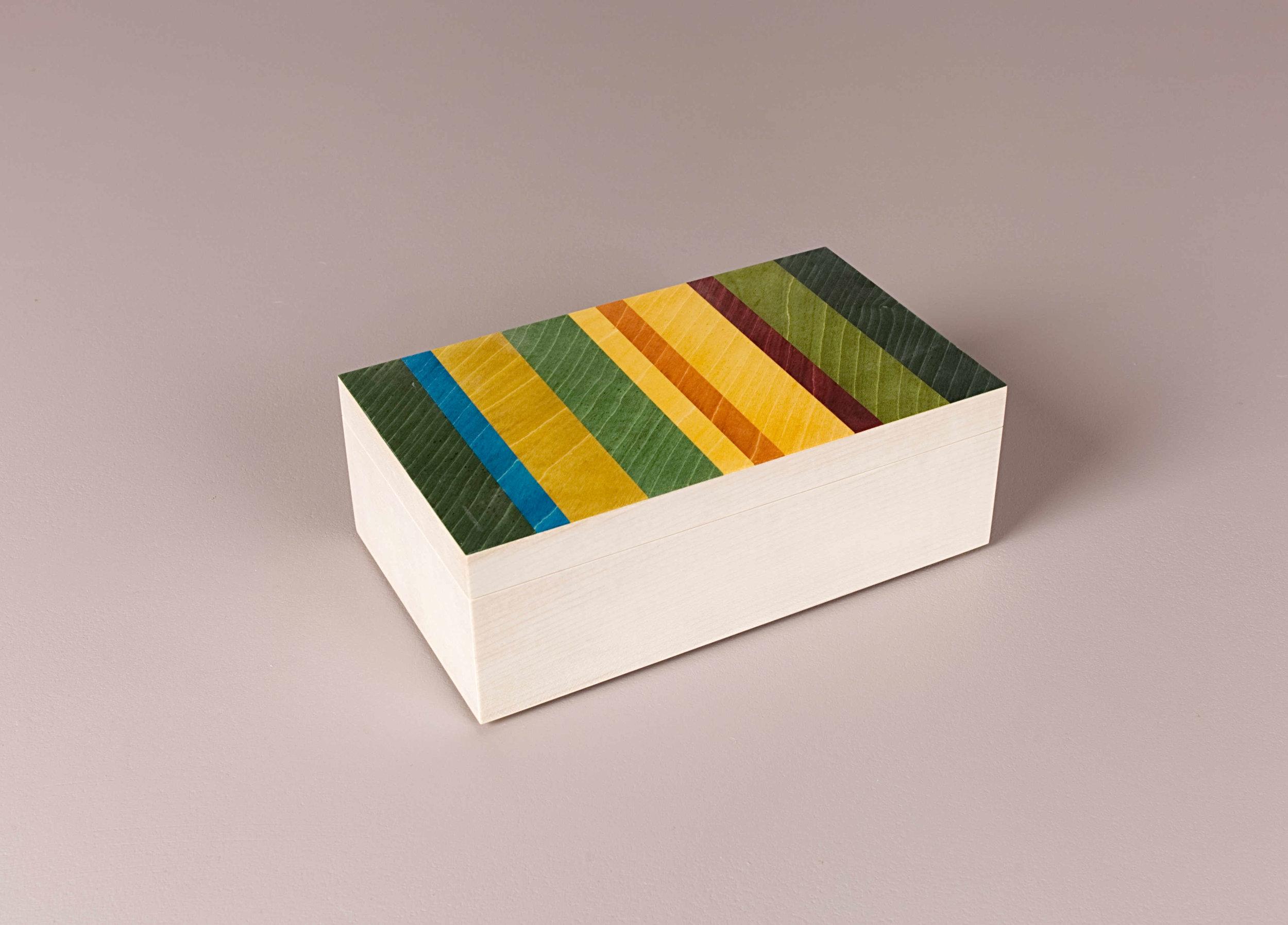 Lime trinket box