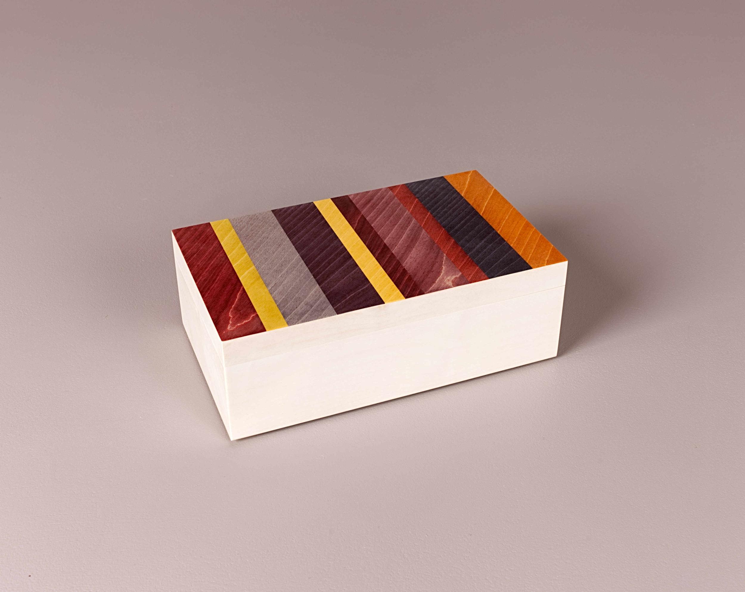 Lipstick trinket box