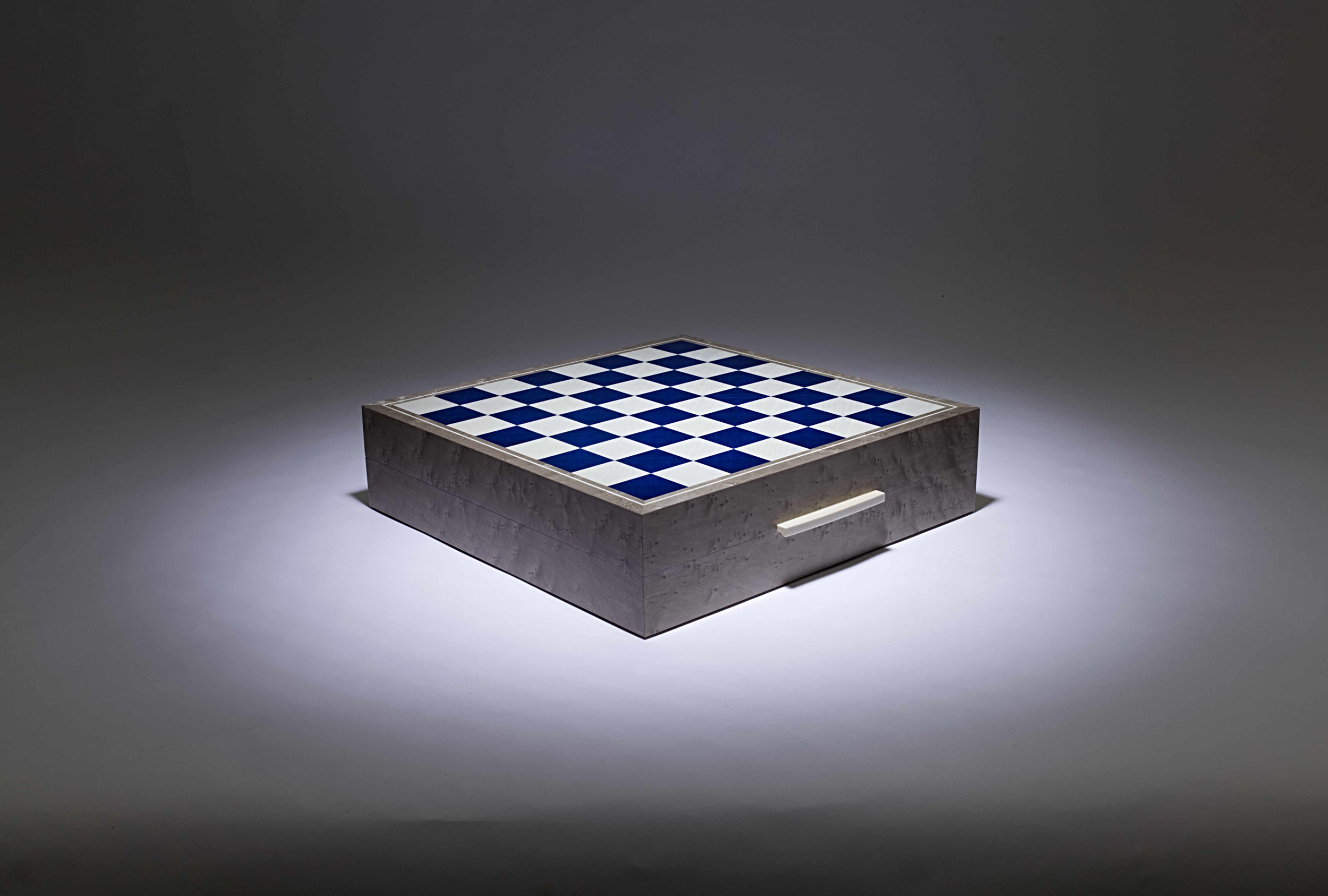 Grey and Blue Games Box