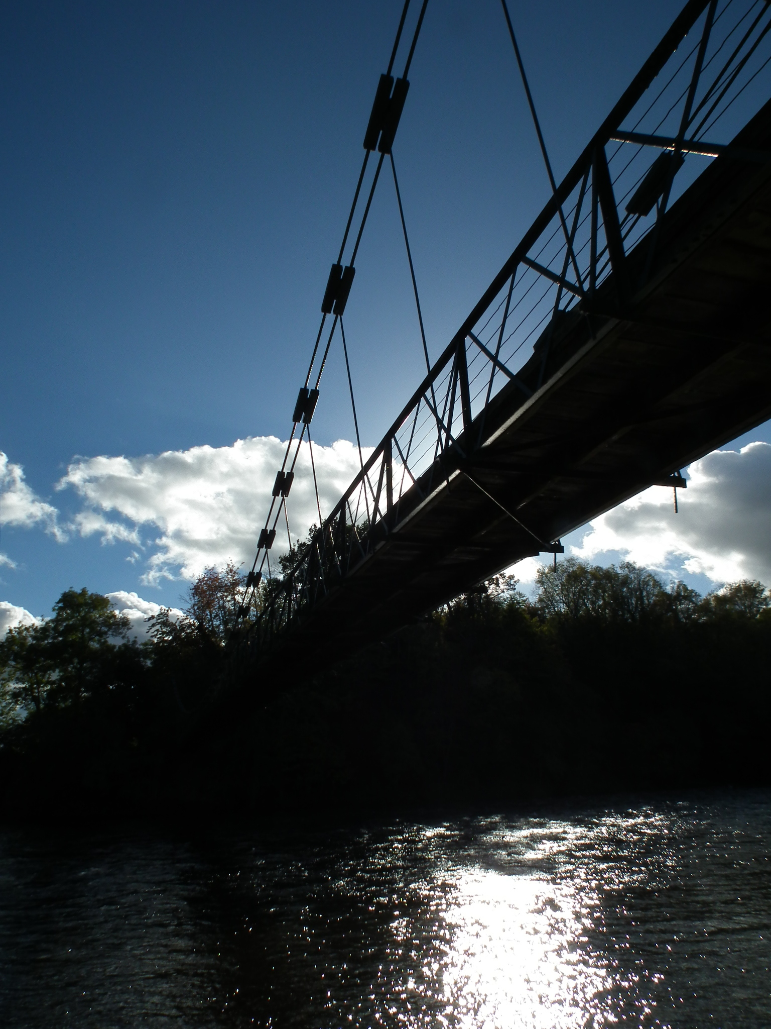 Footbridge at Dryburgh