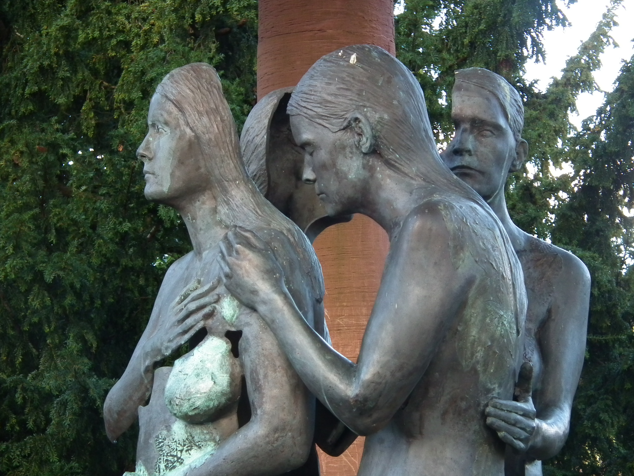 The Muses statue