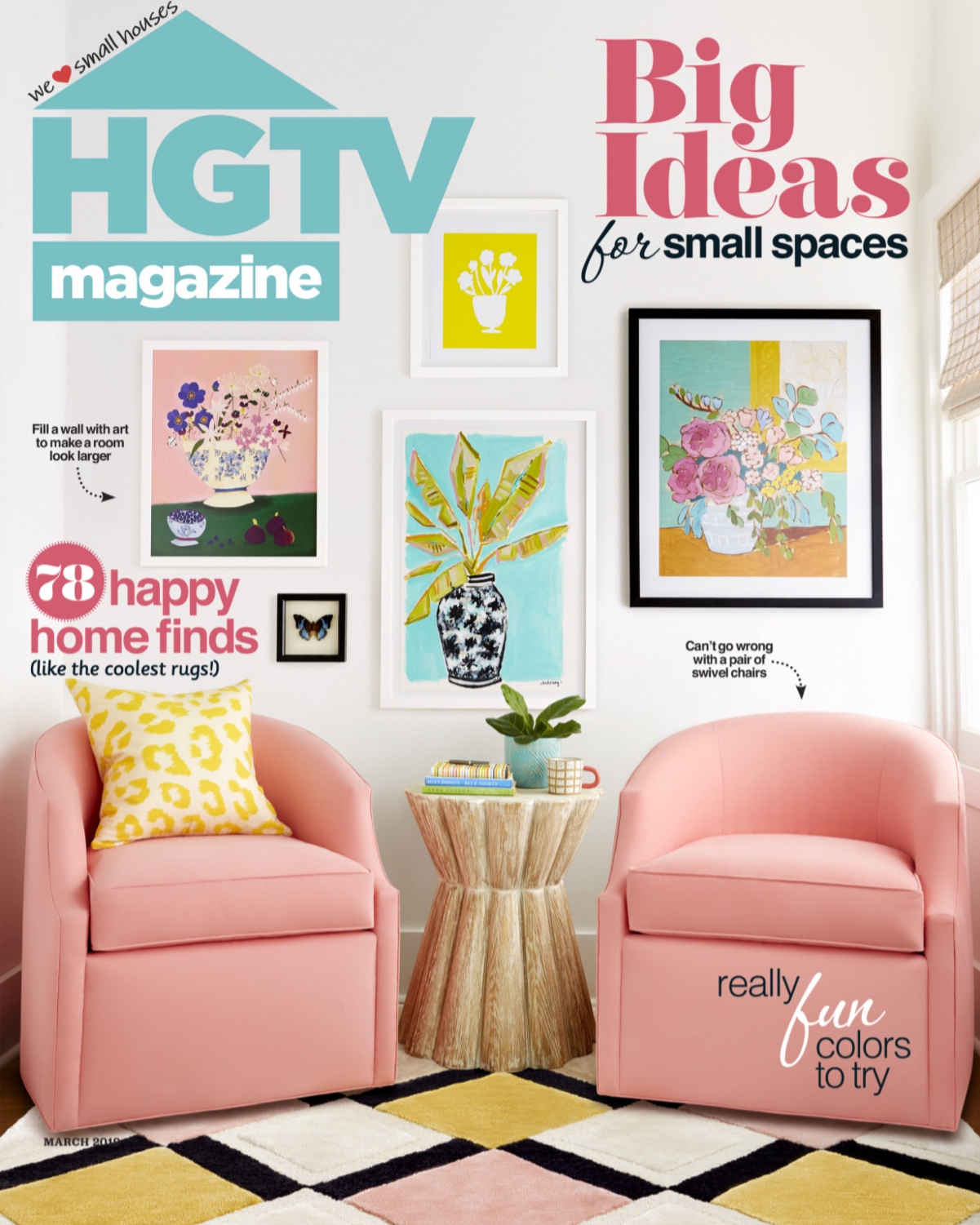Joy Laforme x HGTV Magazine