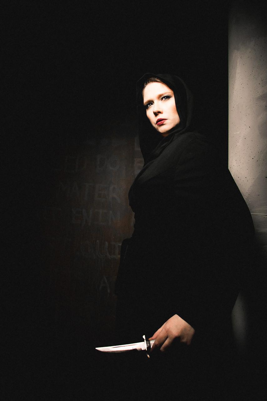 Jessica Saxvik as Artemis. Photo by Joe Mazza of BraveLux