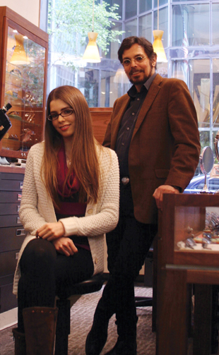 Rachel and Marc Zeitlin, 2012