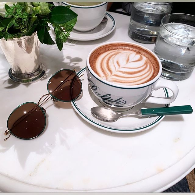 Leisured Saturday's On The Upper East Side #ralphscoffee #ralphscoffeeshop #eyevan7285 #eyevan #eyevaneyewear #japaneseeyewear #eyewearfashion #sunglasses #shades #sunglasses😎 #shades #summerstyle #summer #summerinnyc #eyewearstyle #eyewear #eyeglasses #glasses #sexyeyewear #sexyglasses #fashioneyewear #eyewearfashion #handcrafted #handmadeframes #titanium #zeitlinoptik #opticians #nyc 📸 credit @troybarmore