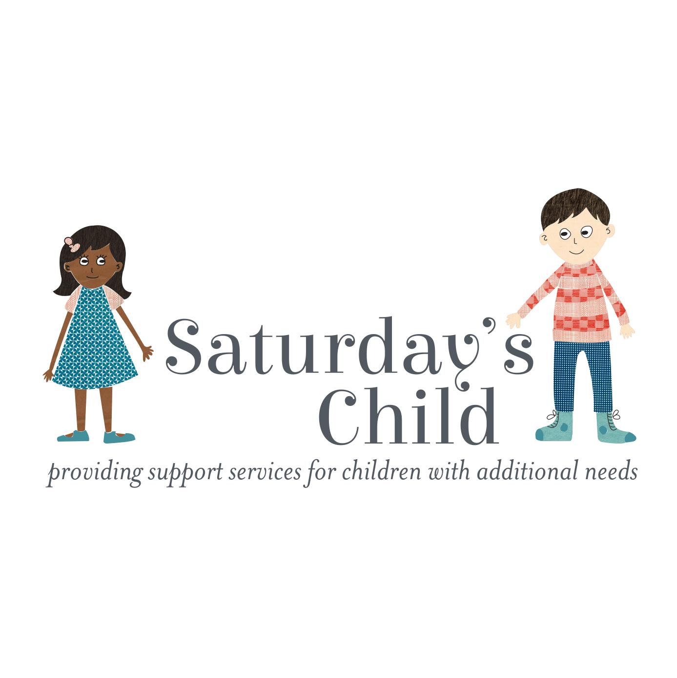 Saturdays Childcare logo concept