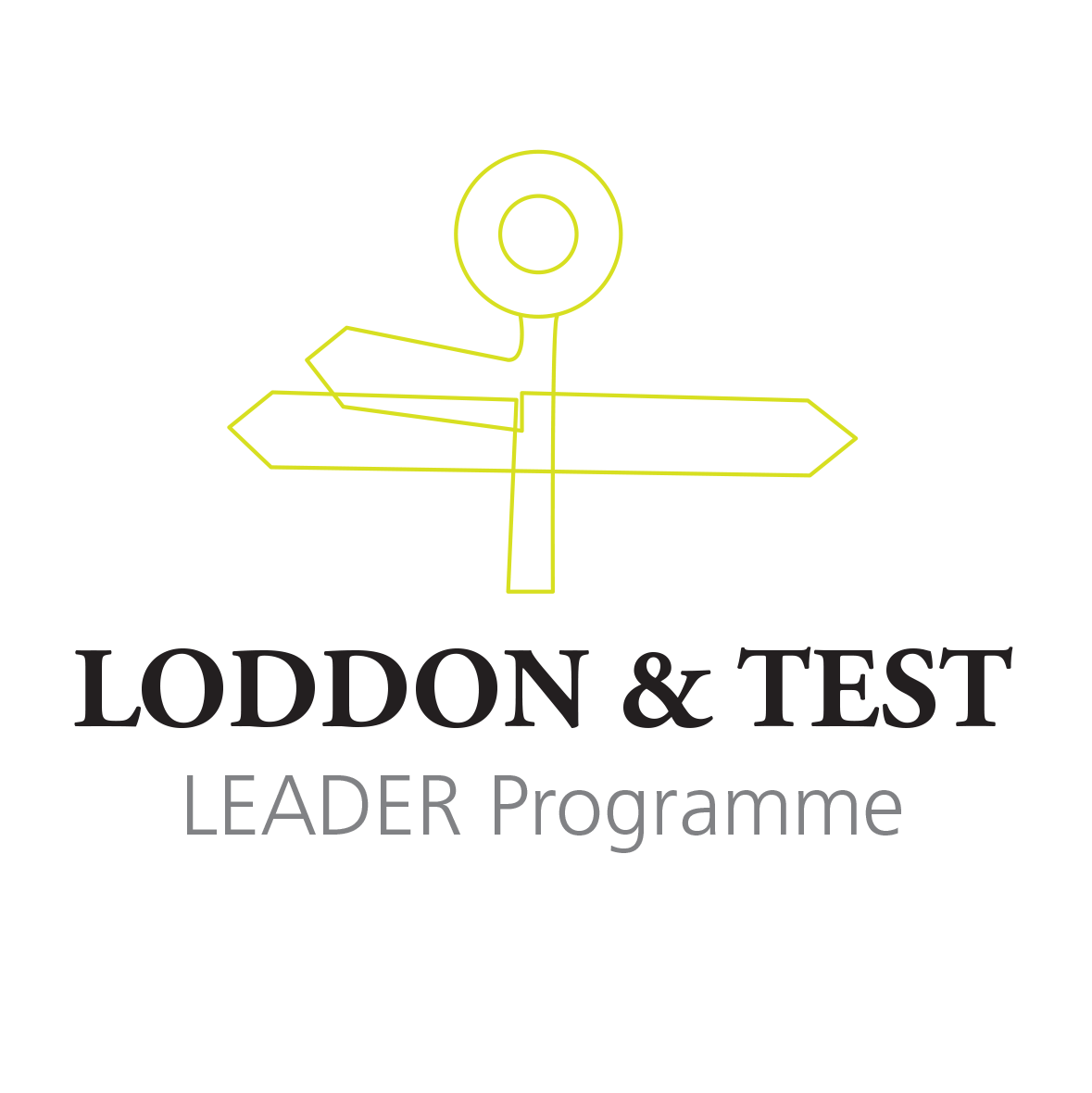 loddon and test logo concept