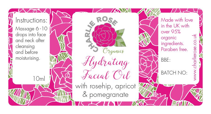 Charlie Rose facial oil