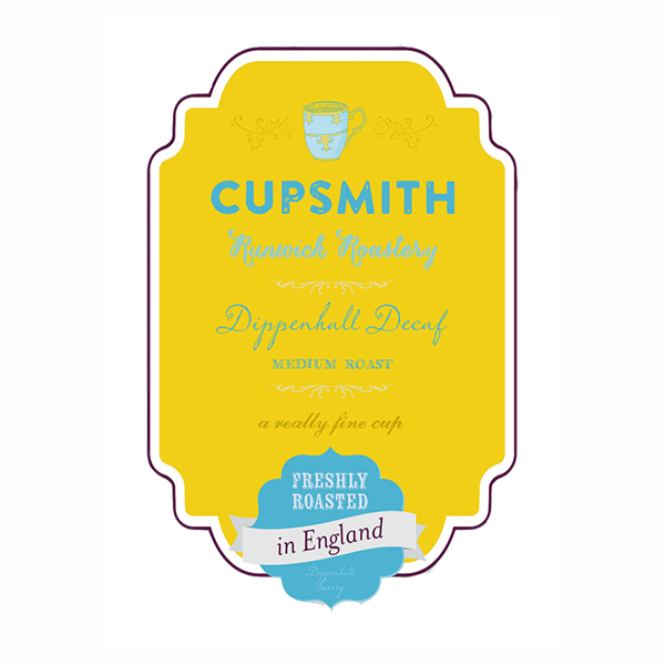 Cupsmith Initial Packaging Label