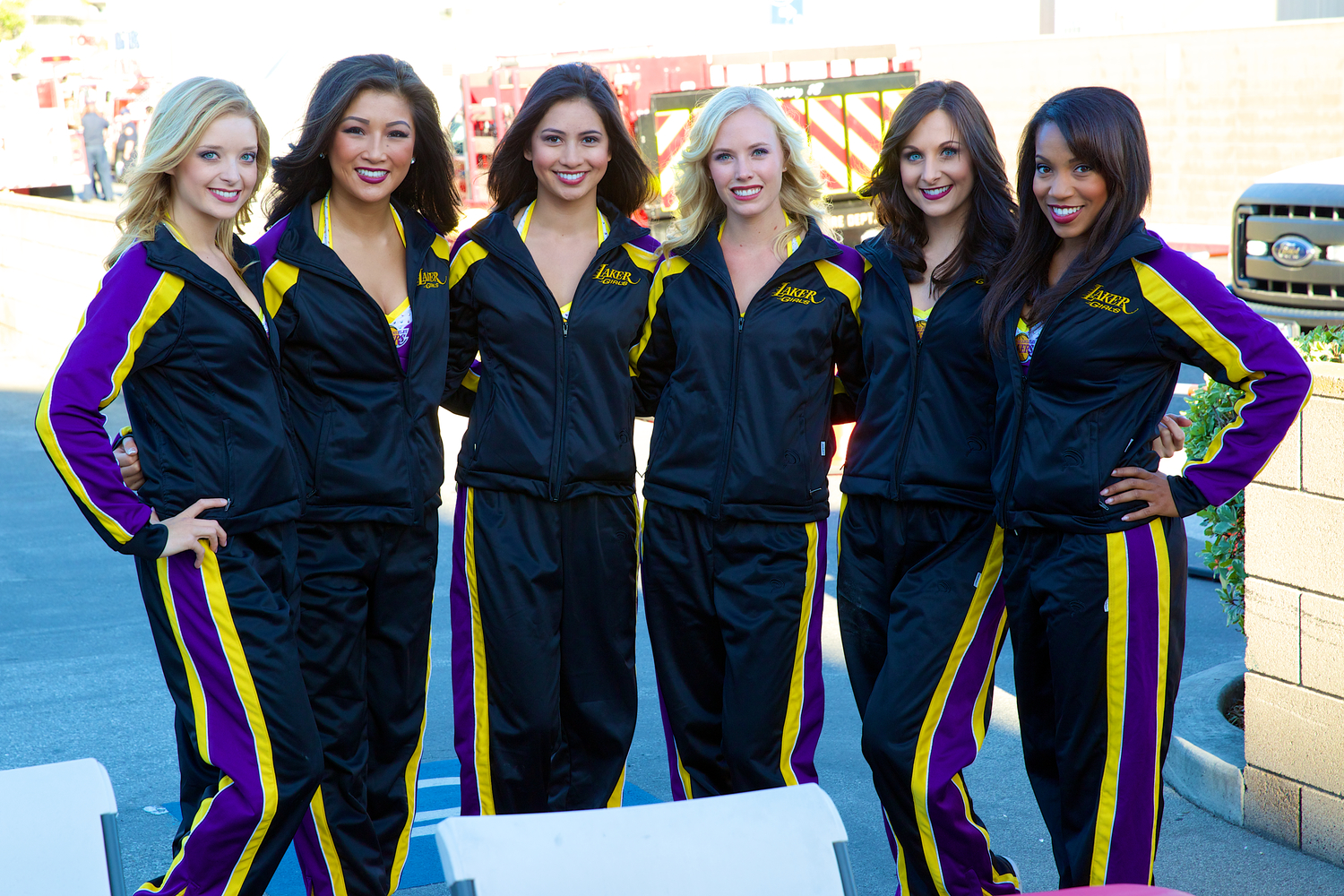 Laker Girls at our National Night Out event.  (click on photo for full resolution). Photo by Erick Chavez.