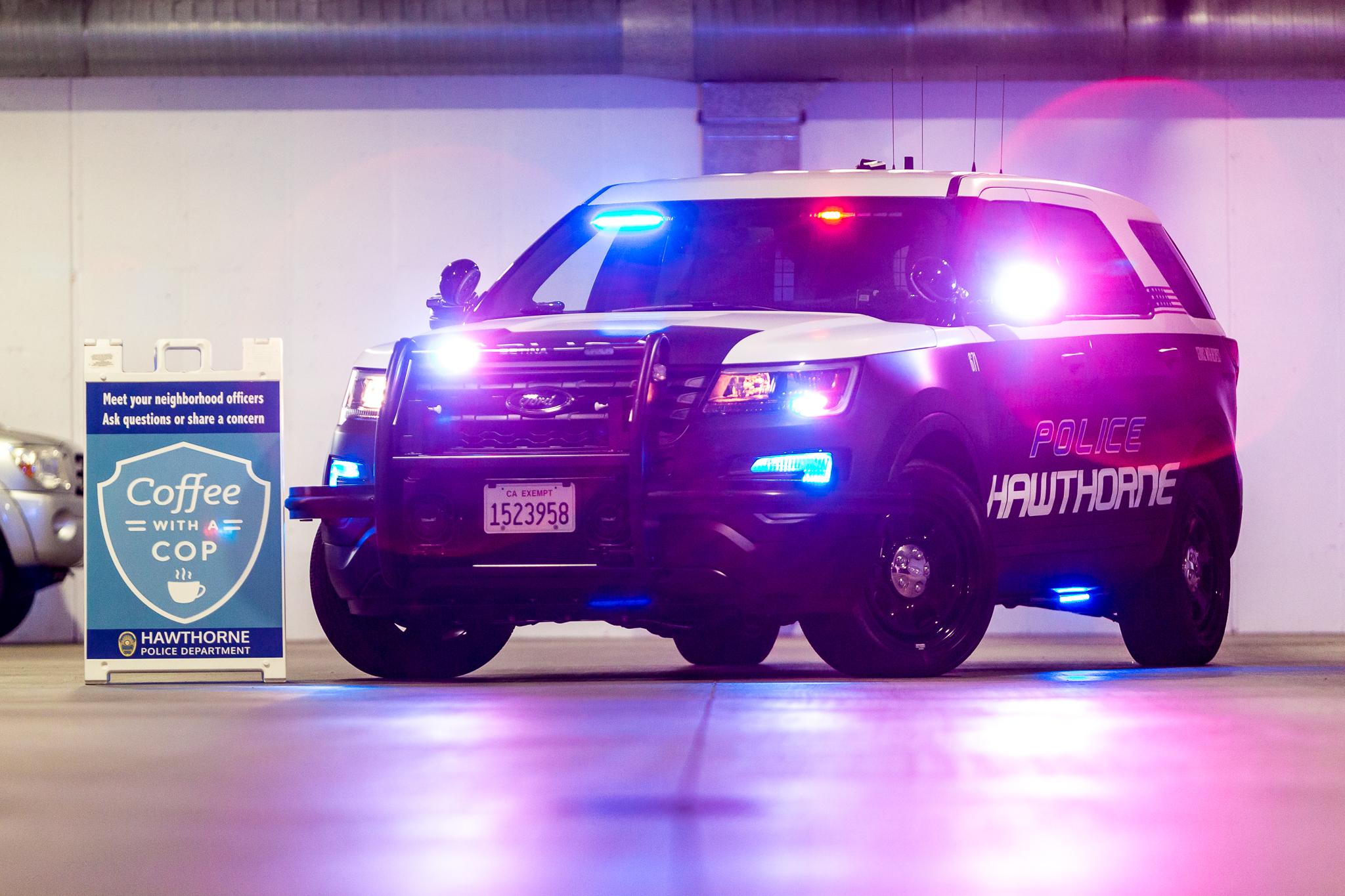 Patrol Vehicle — Hawthorne police