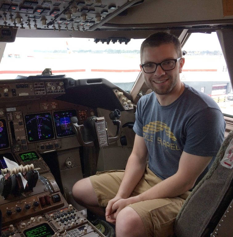 Andrew Ferguson (class of 2000) travels all over the world and works as a Lead Certification Engineer for the KC-46 Wing Aerial Refueling Pod (WARP) for the USAF new aerial refueling tanker and strategic military transport aircraft.