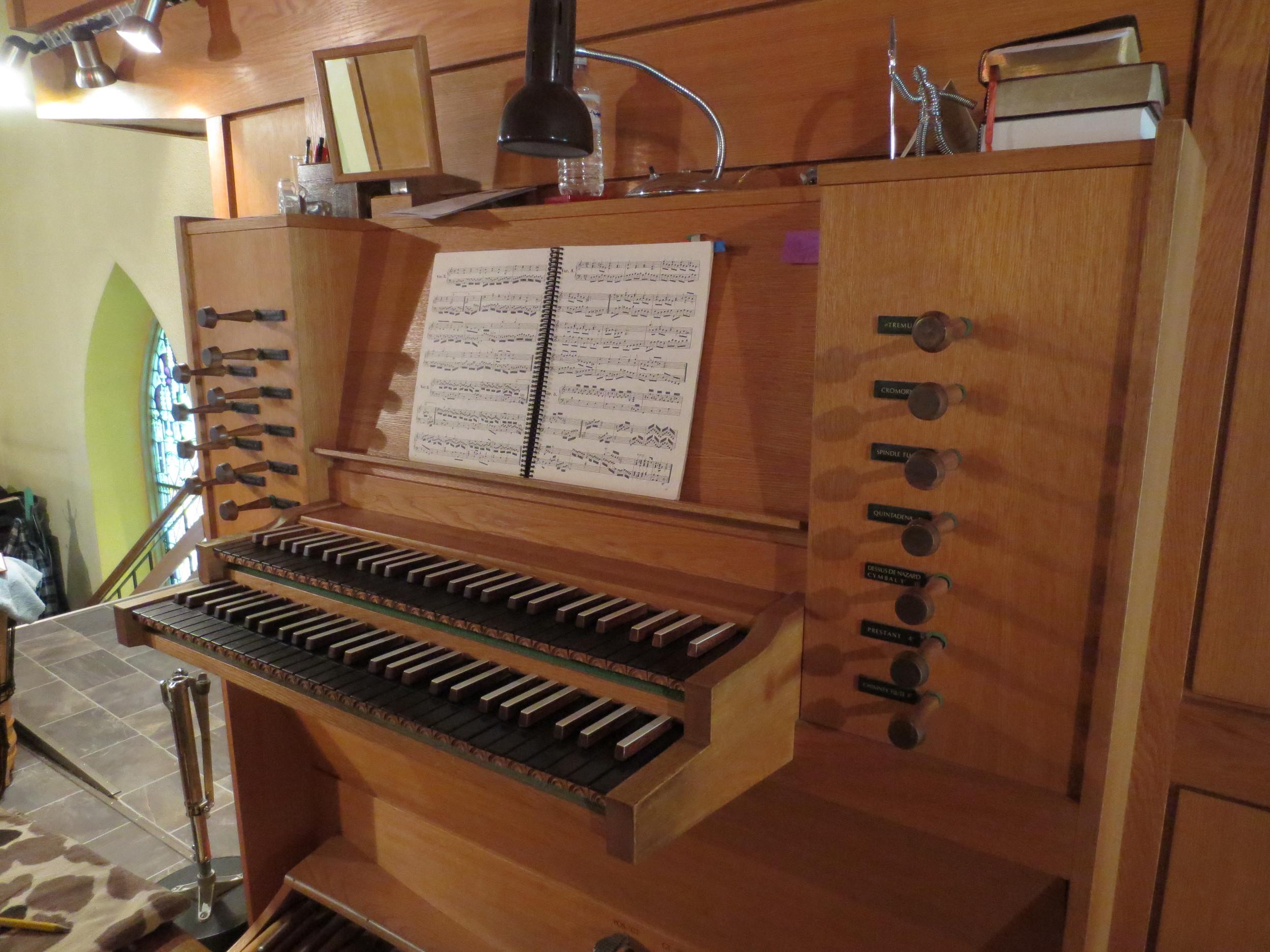 Wolff Opus VIII Organ Console