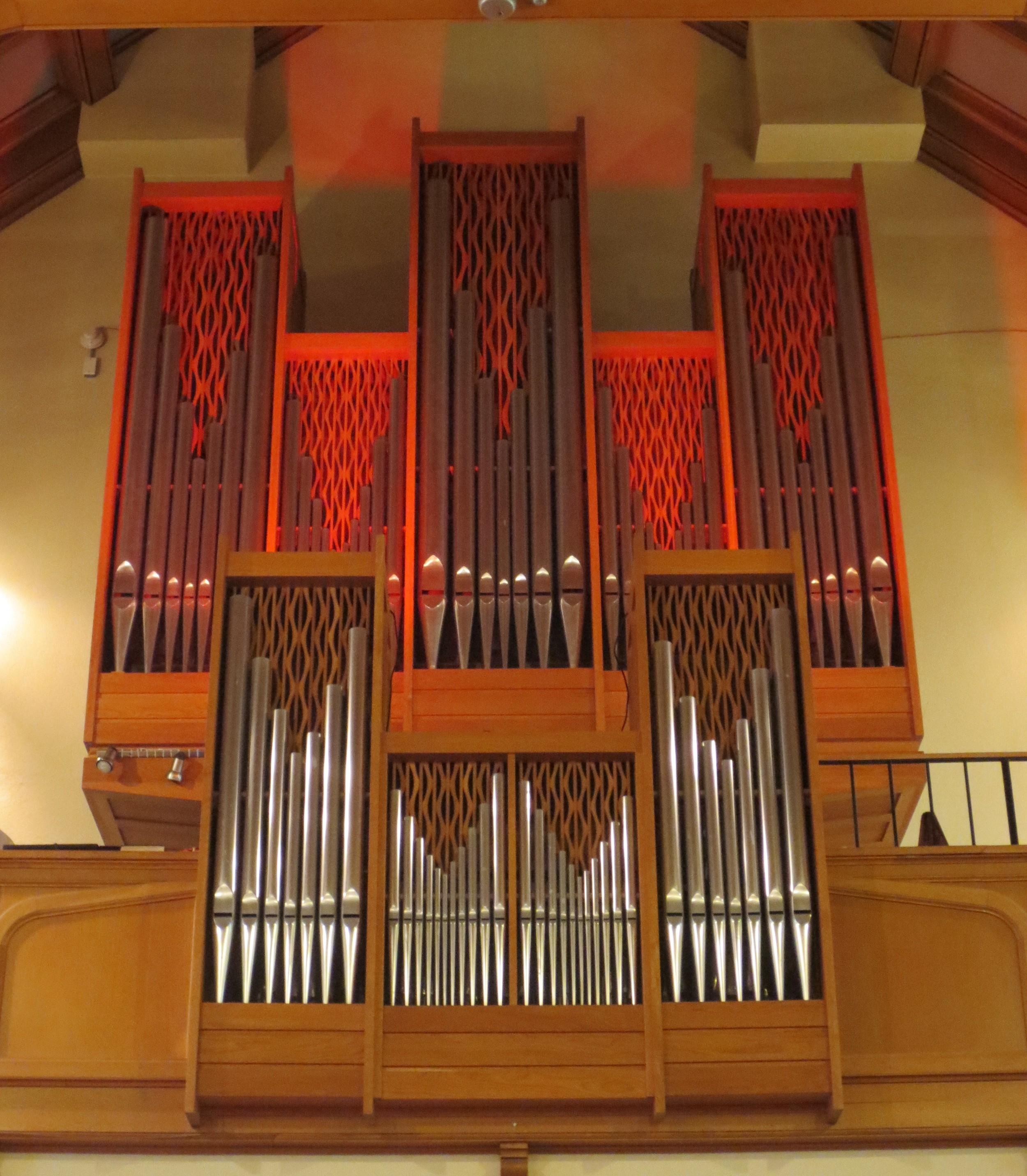 Wolff Opus VIII Organ
