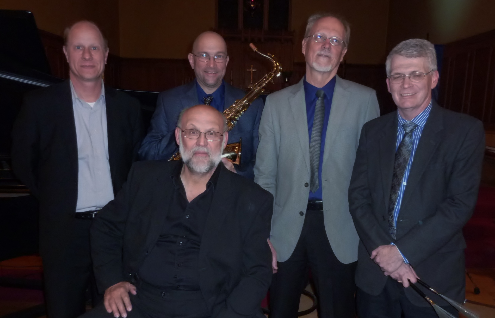 L -R: Gregory Prior, Reid Spencer, Ernie Kalwa, Bradley Moggach, Herb McNeil