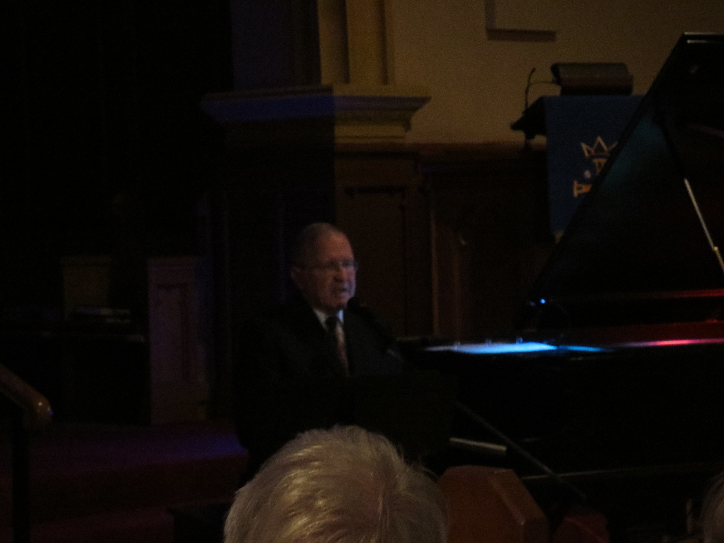 Part of our 180th Anniversary Fall Concert series,  Music and the Movies , featuring Master Raconteur, Bradley Halls on the Grand Piano, Friday December 5, 2014.