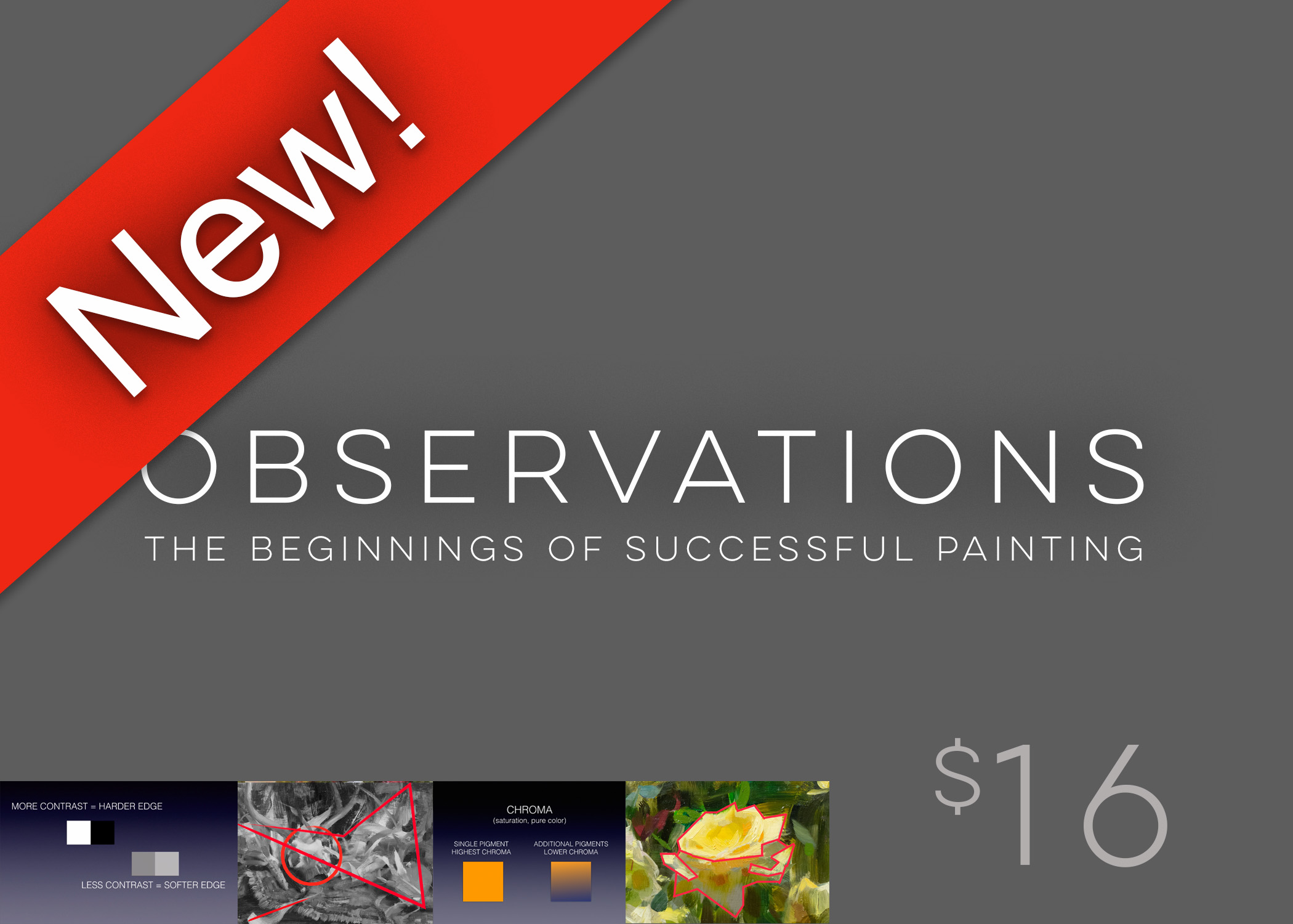 "NEW DIGITAL DOWNLOAD! - ""OBSERVATIONS: The Beginnings of Successful Painting""A digital slide presentationCLICK HERE to buy"