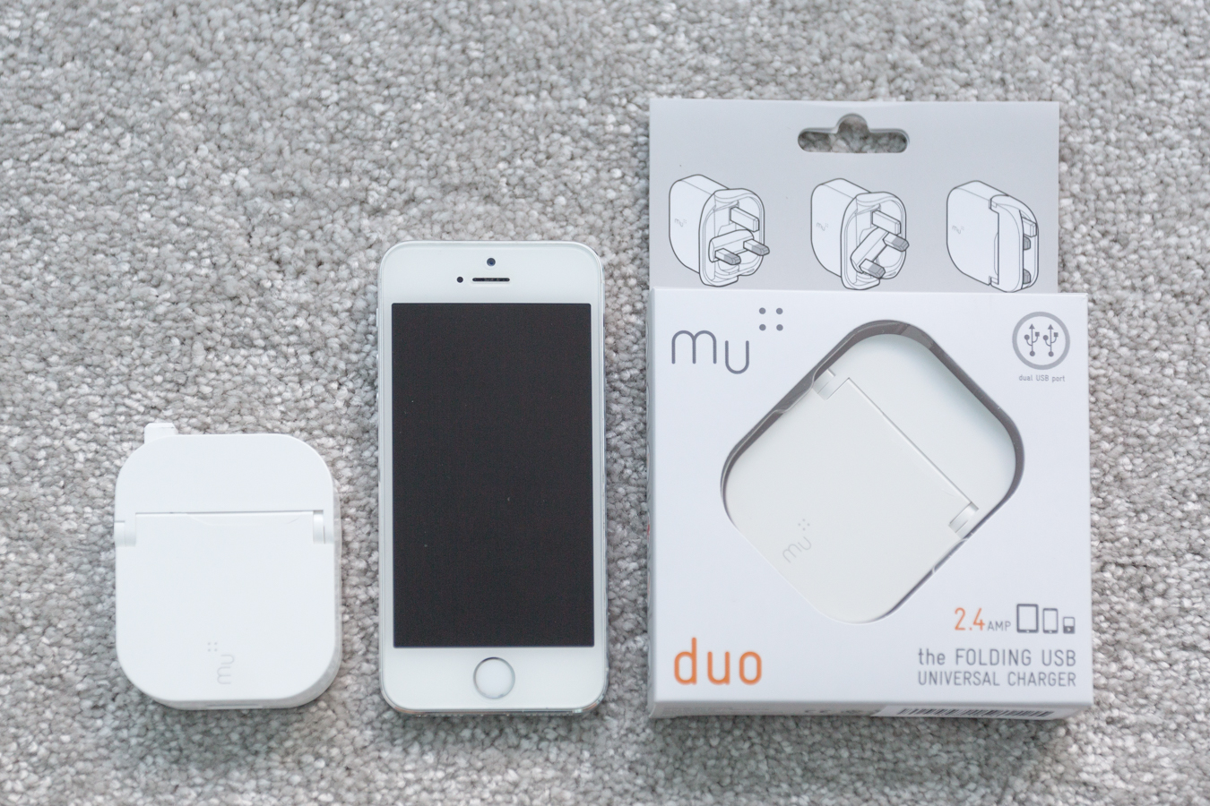 The Mu Tablet and the Mu Duo with an iPhone 5S