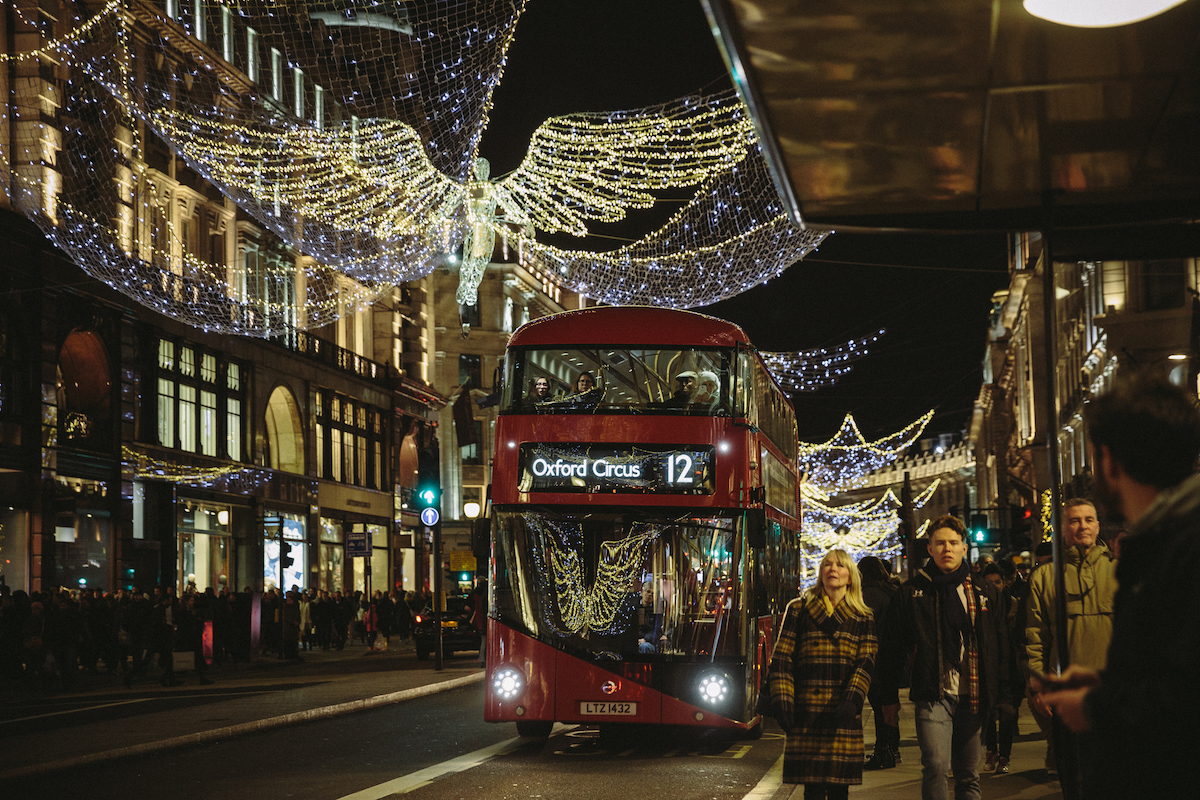 I'm not in the mood for Christmas just yet (because it's November), but Regent Street and the surrounding area is ready with lights if you like that sort of thing