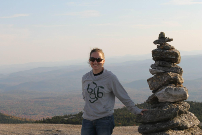 On top of Mt. Cardigan, October 2014.