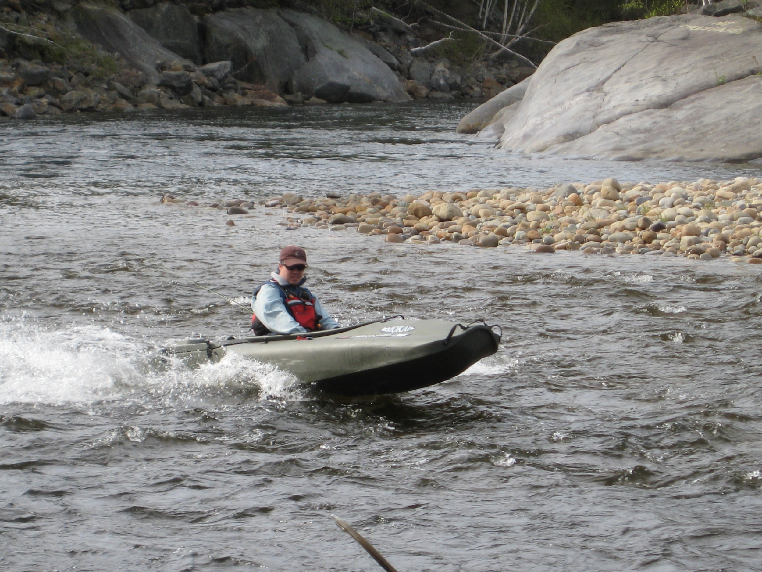 Rapids on the Pemigewassett