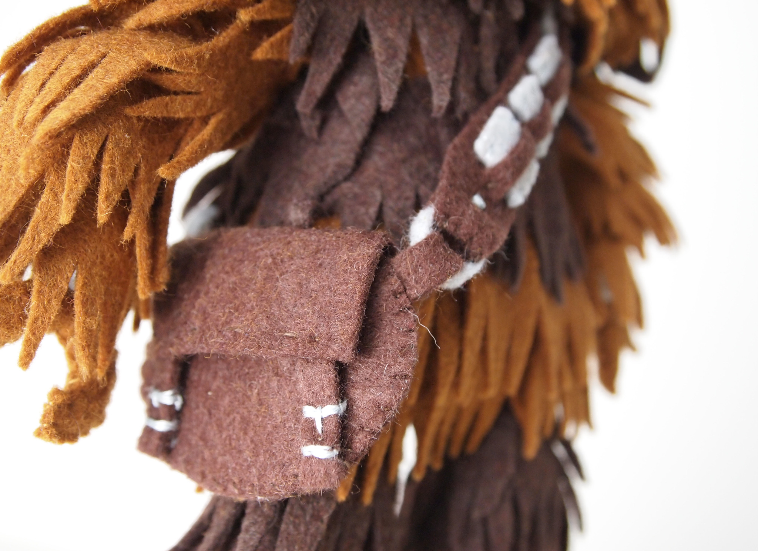 """""""Bad Wookiee""""is a fine art mix of the Bad Robot and Chewbacca"""
