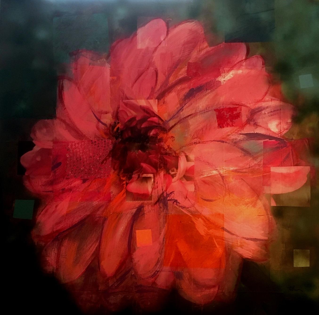 Big Pink Dahlia