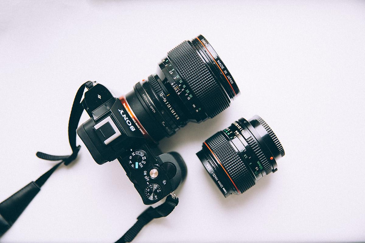 Sony A7 + Canon FD 85mm F/1.2L + 50mm F/1.2L