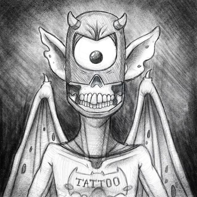 "I'm BAT-MAN!? . #wip #art #artist #illustration #digital #Drawing #Bat #Man #Batman #creature #skull #video #Friday #NYC 🔊: Chopin ""Scherzo No1"""