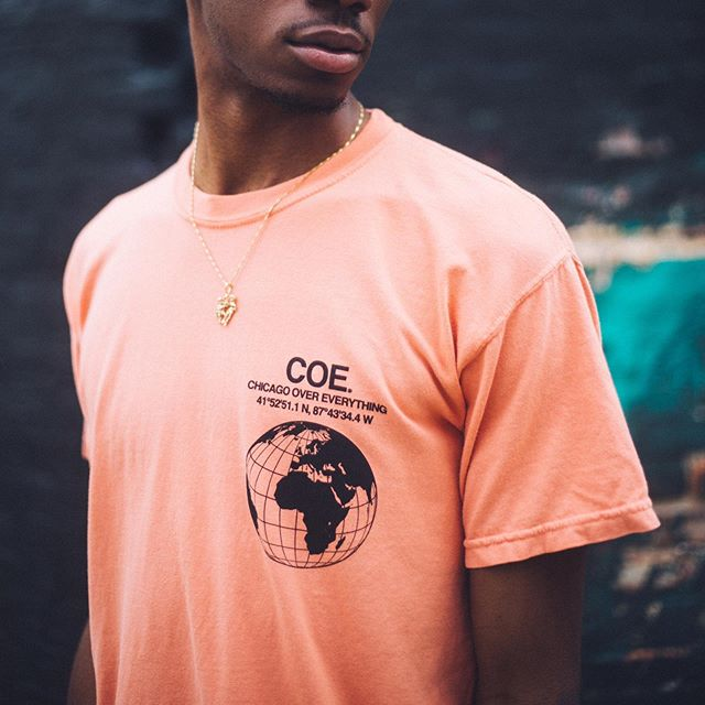 COE Global Tee. Online now in two colors.