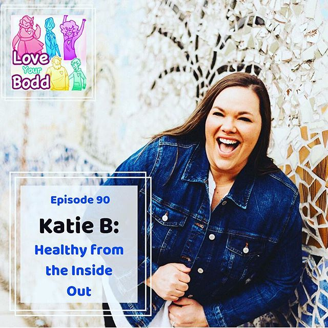 "{NEW EPISODE ALERT!!! Link in bio}⁣ ⁣ ""I don't want to be the person at the party who's not eating cake,"" - Katie B. 🎂⁣ ⁣ Today on Love Your Bodd I have a wonderful second interview with @katie.happyliving !!!! ⁣ ⁣ In my first interview with her, nearly 2 years ago, we discussed her struggles with weight, infertility, and pregnancy loss. This time around, Katie's life is very different. ⁣ ⁣ There are TWO things that make this episode incredibly special! First, it is EPISODE NINETY of Love Your Bodd! And more importantly, it's a ""Happy 1st Birthday!"" episode for Katie's daughter!!! ⁣ ⁣ Listen to hear how her life has MAJORLY changed both pre, during, and post pregnancy. How her relationship with food, health, and her body has evolved, and most importantly, find out why she loves the pineapple emoji so much 🍍🍍🤪🤪⁣ ⁣ She has a lot to celebrate but she also has some incredible advice for those who struggle to conceive. ⁣ ⁣ Available on iTunes, Spotify, and anywhere podcasts are available. Links to listen in bio. ⁣ ⁣ .⁣ .⁣ .⁣ .⁣ .⁣ .⁣ ⁣ #mindfulness #theuniversehasyourback #nutrition #bodyimage #mindful #intuitiveeating #selfcare #selflove #personaldevelopment #podcast #loveyourself #loveyourbody #loveyourbodd #eatthedamncake"