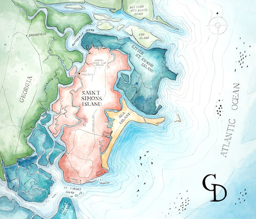 Map Of Georgia Golden Isles.All Map Collections Gunner S Daughter