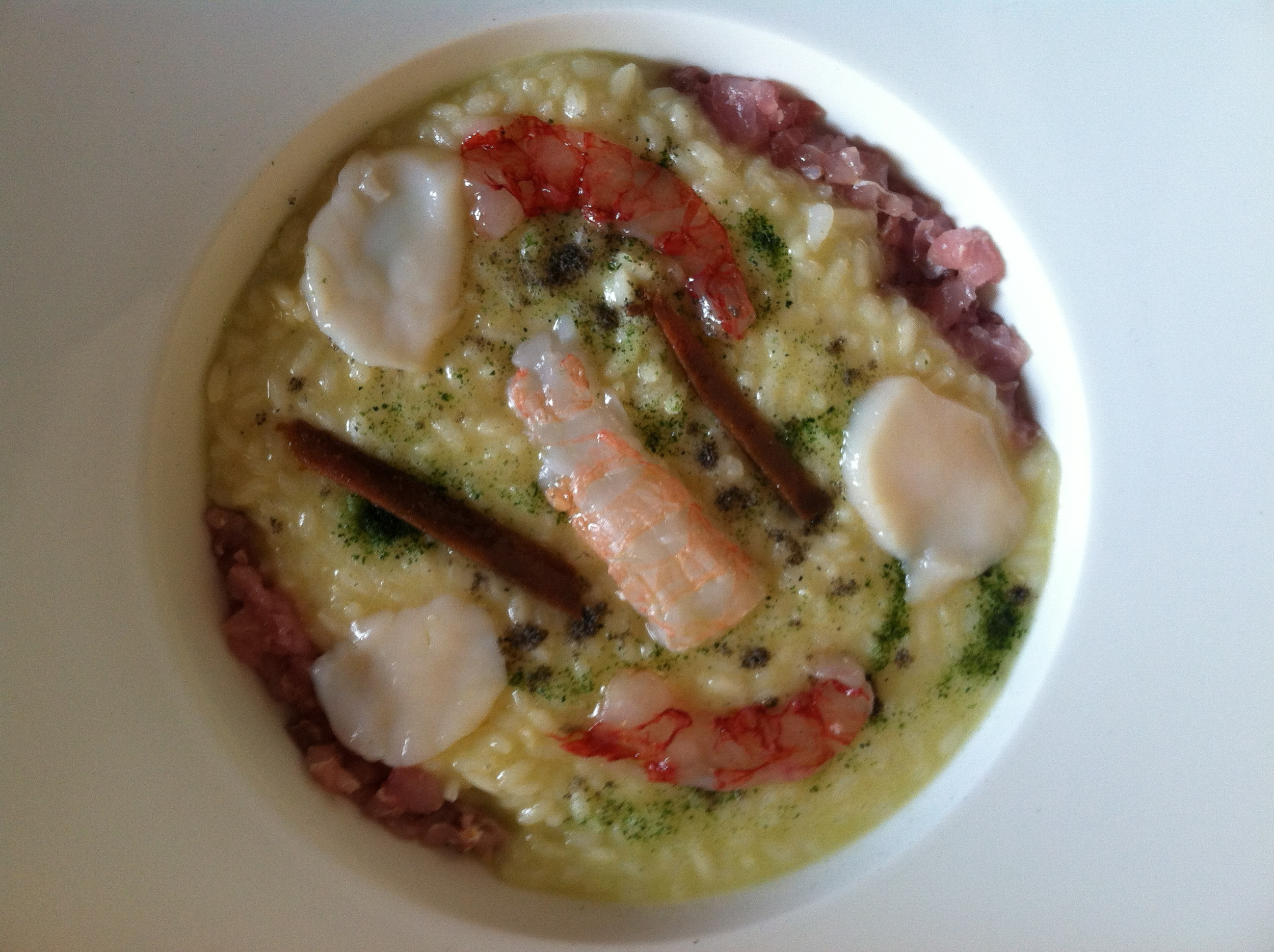 Seafood Risotto at Marconi