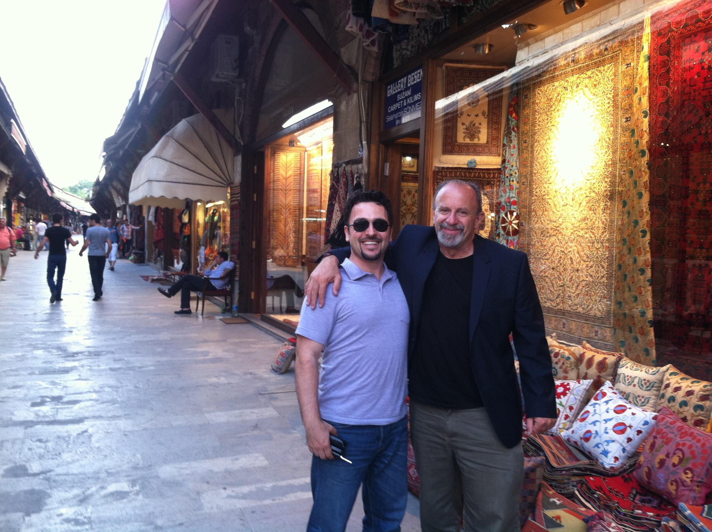 Murat and Michael in Istanbul