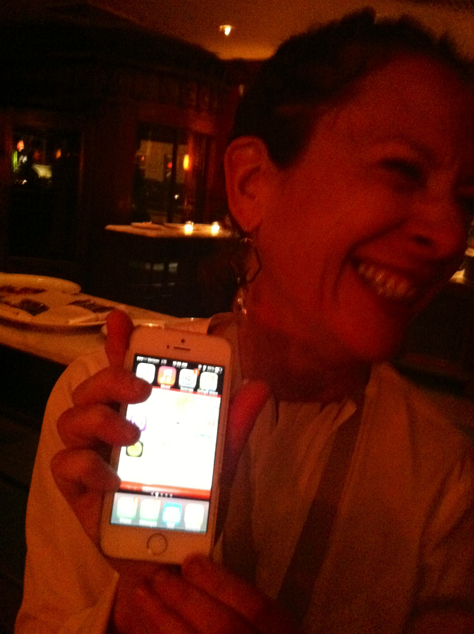 "An hour after winning the James Beard award for best chef in America, Nancy shows off her phone. ""look. I have 54 new messages."""