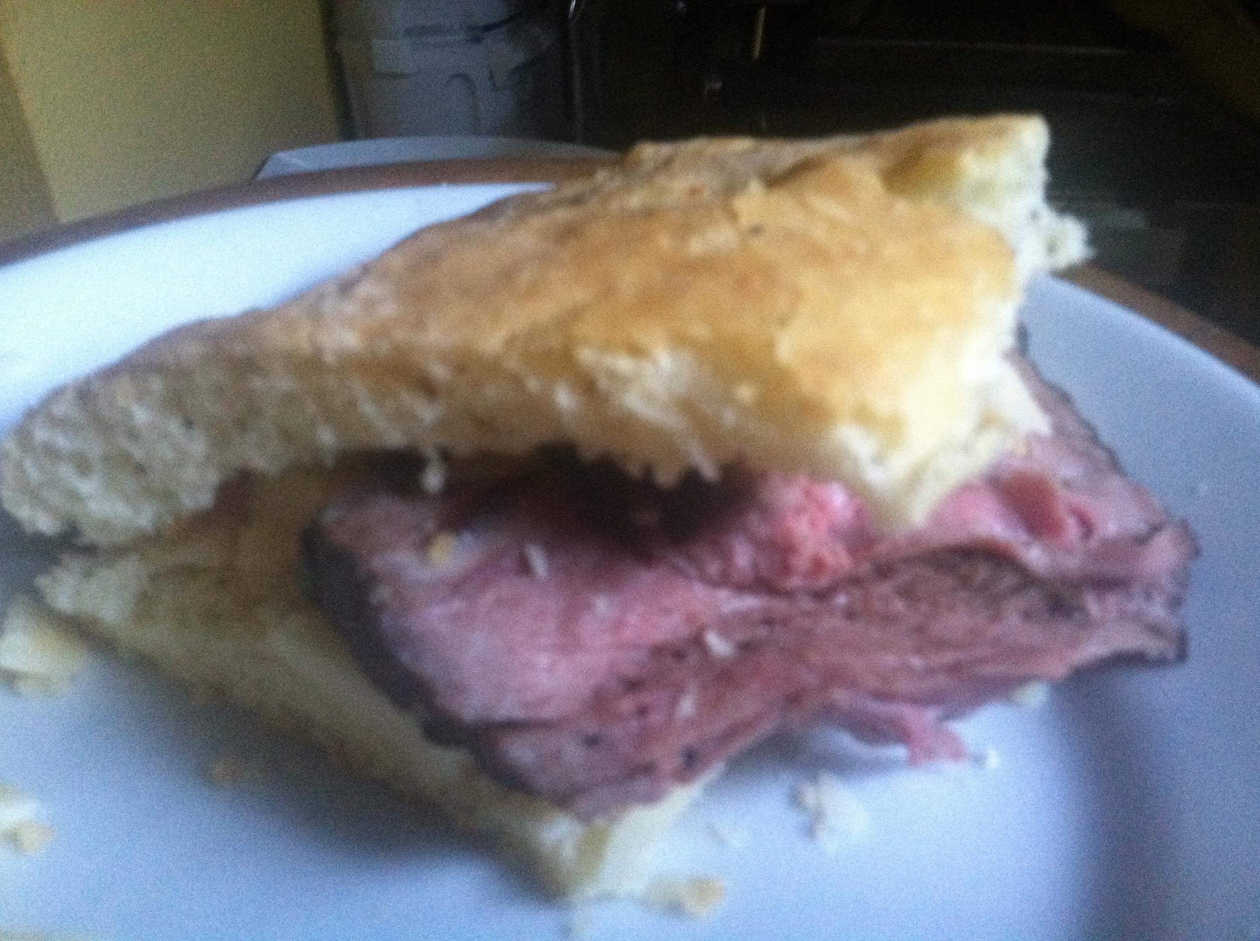 The just released La Steak Sandwich.