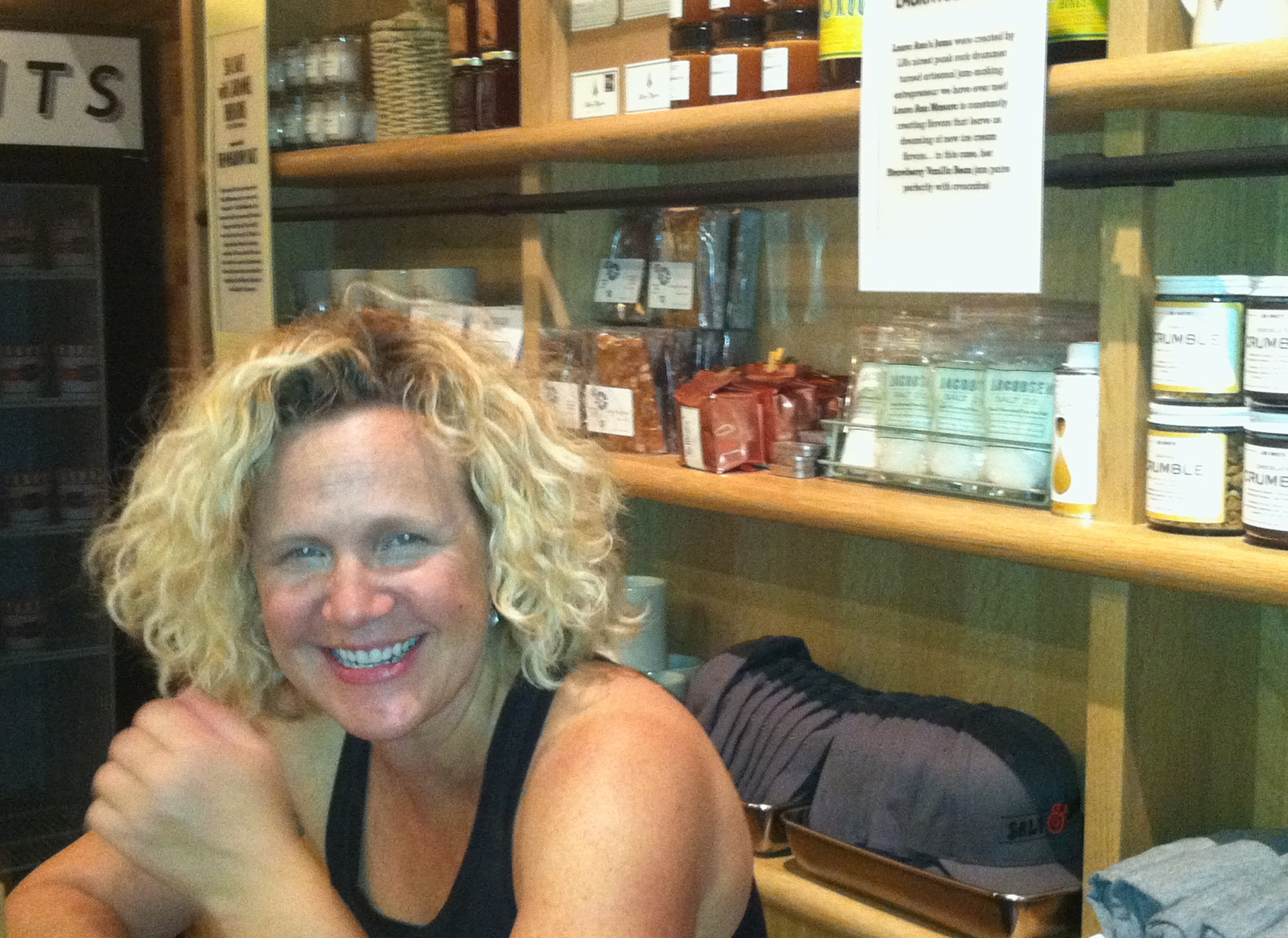 """""""Wanna sample something good?"""" is a statement Kim Malek, co owner of Salt & Straw says a lot."""