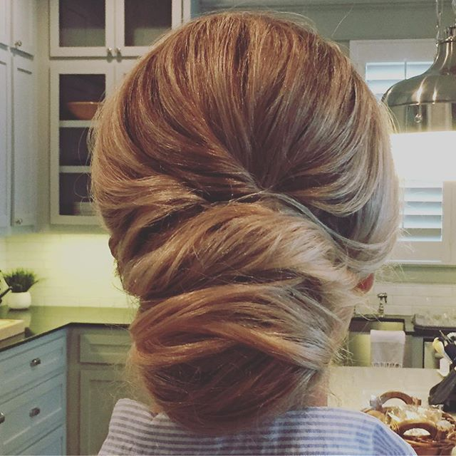 Just a little updo I done did today  #bridalhair #houstonbrides #bridal #hair #houstonhairstylist #houstonweddings #bridalupdo #updo