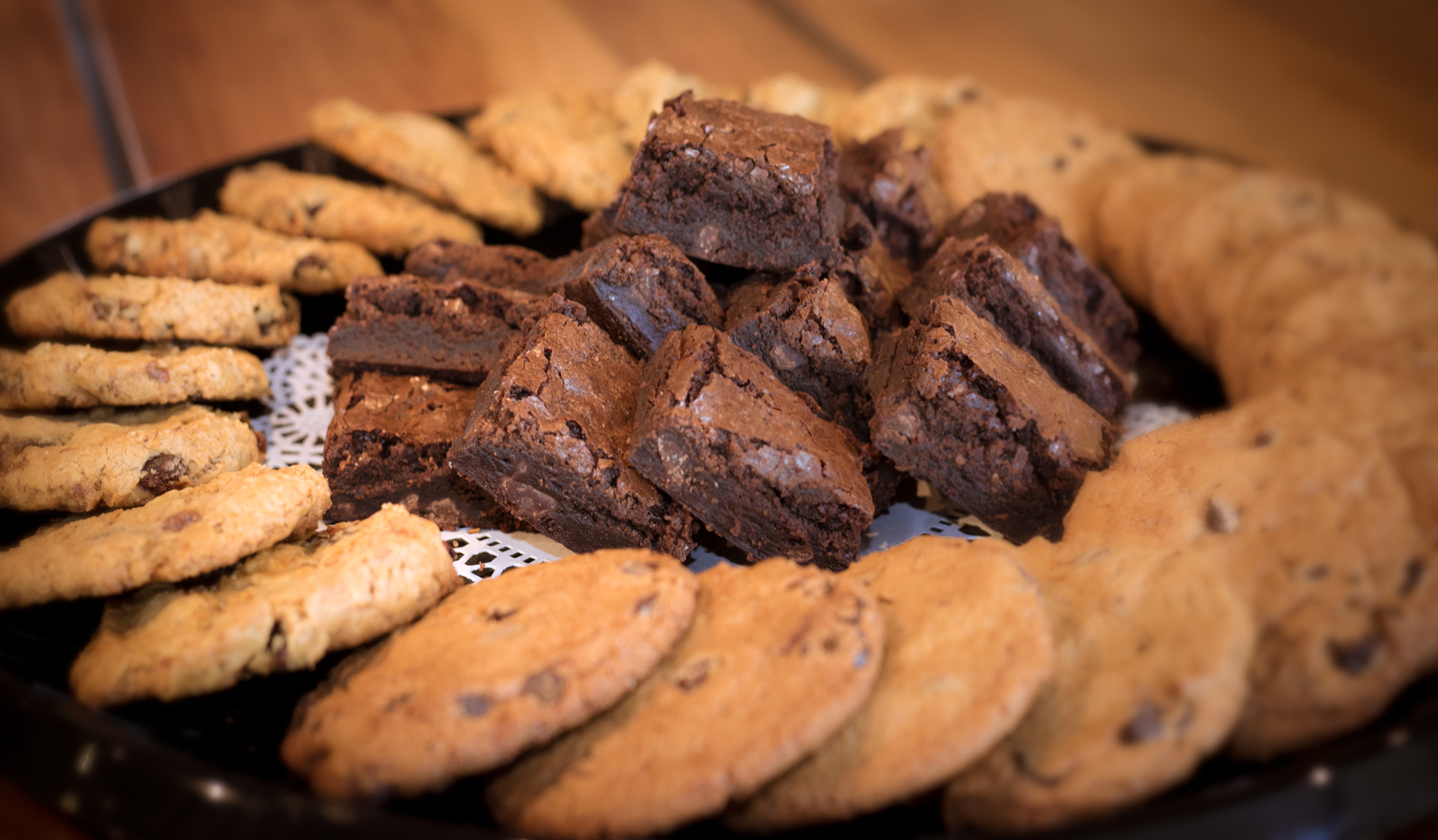 Chocolate Chip Cookies and Brownies